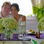 Guayabo Lodge, wedding couple