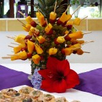 Guayabo Lodge party snacks