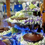 Guayabo Lodge, display of cakes and sweets