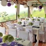 Guayabo Lodge, table decoration
