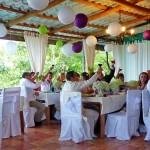 Guayabo Lodge: toast to the new couple
