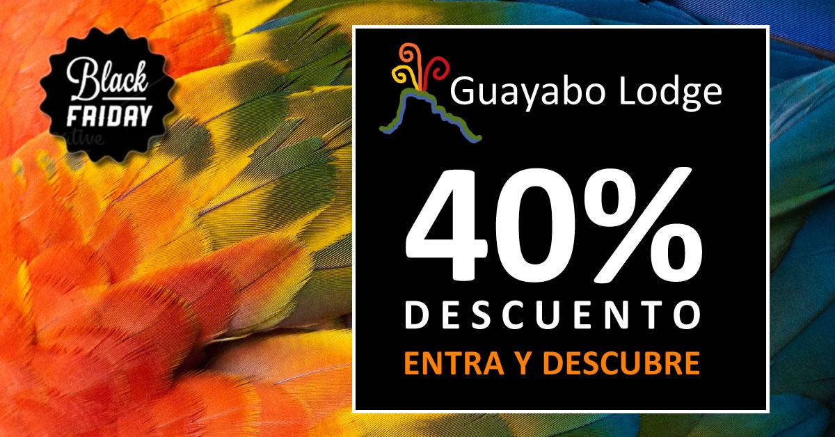 Black Friday Offer 2015 at Guayabo Lodge