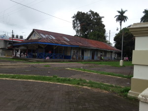 The old Railway Station in Turrialba Center