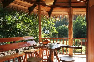 Tree House Lodge: Beach House-view