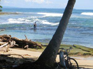 Local fisherman, Puerto Viejo
